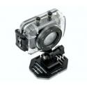 Câmera de vídeo à prova d'água, HD 720P bicicleta capacete tela sensível ao toque lítio