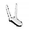 USB adaptador WIFI ISB com 2 Antenas botão WPS Tenda W322UA 2T2R 11n