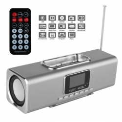 Altavoces Music Angel QOOPRO 12033 MP3 MP4 USB iPhone y iPod