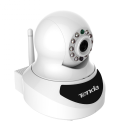 Câmera IP monotorizada HD com LED IR Wifi slot MicroSD