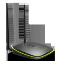 ADSL2+ Modem Router Gigabit wi-fi De duas bandas de 2,4 GHz / 5 GHz