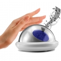 UFO Shape LCD Digital Alarm Clock Voice Talking Thermometer