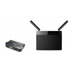 PACK terminal GPON Tenda G103 + Gigabit Router Tenda AC9 WIFI