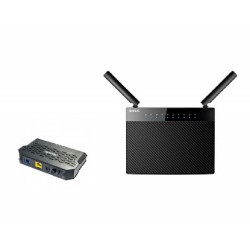 PACK terminal GPON Tenda G103 + Gigabit Routeur Tenda AC9 WIFI