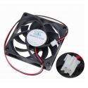 Cooler Fan 2PIN 70mmX70mm x 15mm 7cm 12v CPU VGA cable