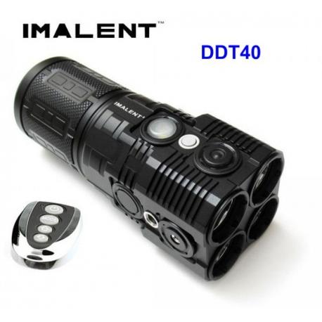 Imalent ddt40 linterna recargable potente led 5180lm brujula for Linterna de led potente