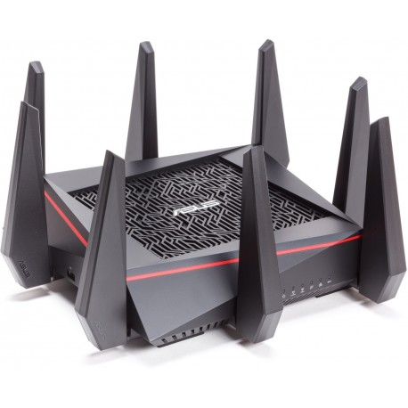 RT-AC5300 ASUS router WiFi AC MU-MIMO Gigabit tri-band giochi