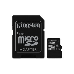 16GB MICROSDHC Kingstone Clas10 microSD card the Canvas to Select