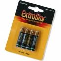 batterie AAA lotto 4 unità extrastar 1,5 v R03 di più lunga durata