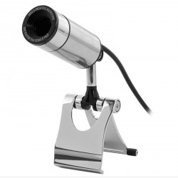 Webcam USB web camera in metallo sensore da 2 megapixel con microfono