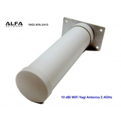 Antenna WiFi Yagi 10dbi Alfa Network AYA-2410 2.4 GHz Outdoor
