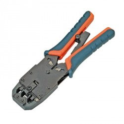 Pliers to crimp cables and connectors RJ45 / RJ12 /RJ11 ratchet