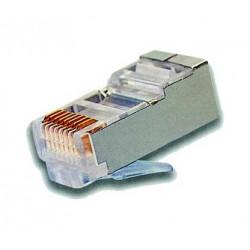 Connecteur RJ45 pour CAT6 câble Blindé, pour sertir