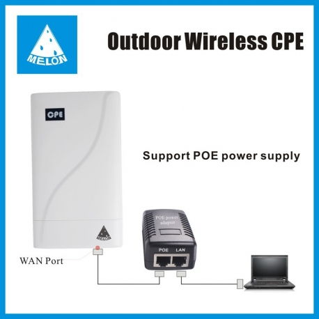 MELON N828 CPE PoE 300mb WIFI AP router repeater outdoor
