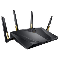 Wlan-Router-6 AX ASUS RT-AX88U Gaming AX6000 Dual-Band-Gigabit-Mesh