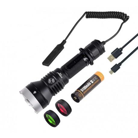 luce speciale caccia kit Acebeam L30 II Generazione