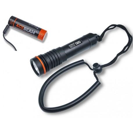 Acebeam D20 Taschenlampe tauchen wasserdicht bis 200 meter