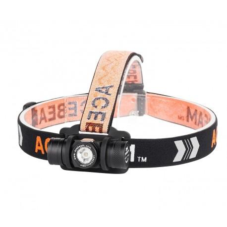 Acebeam H40 Frontal LED con luz intensa blanca fría 6500K
