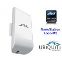WISP CPE antena wifi repetidor cliente Ubiquiti nanostation m2