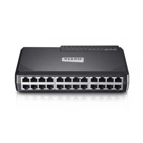 SWITCH 24 ports 10/100 MBPS bureau. AUTO MDI/MDI-X full-duplex