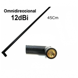 12dBi High-Gain 2.4GHz Omnidirectional WiFi Antenna SMA RP-SMA