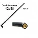 WIFI Antena 12dbi Alto Ganho Omnidirecional 2.4 gHz SMA 45Cm