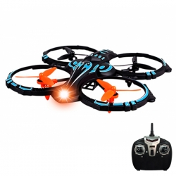 Drone cuadricoptero giro 360 extreme Hellcat 3GO 30m 4 canales