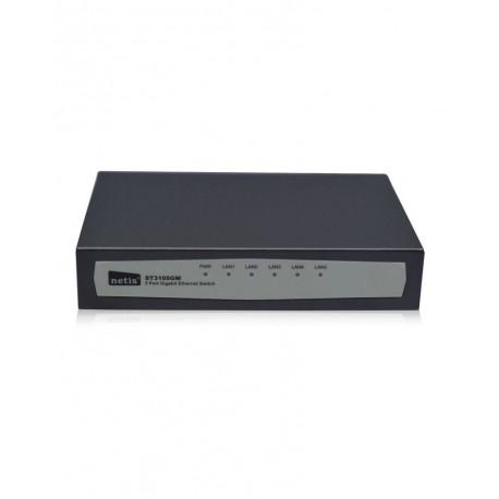 NETIS ST3105GM SWITCH Gigabit 5 PUERTOS 10/100/1000 MBPS AUTO