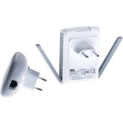 POWER LINE 600 MBPS kit 2 piezas PL7600 Ap WiFi 300 Mbps +2 RJ45