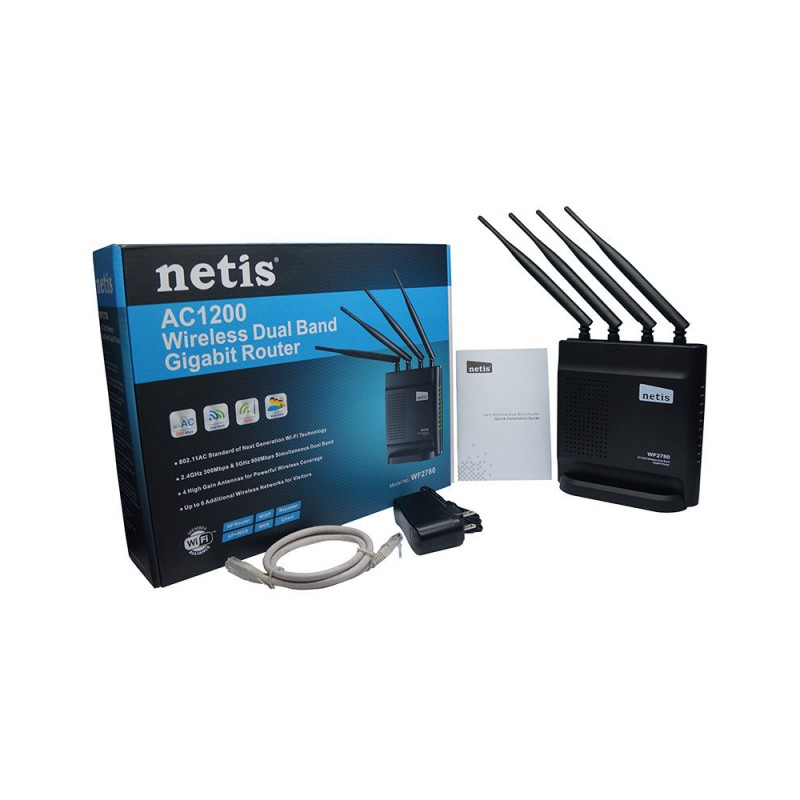 NETIS WF2780 Router WiFi 5G Gigabit Dual-Band