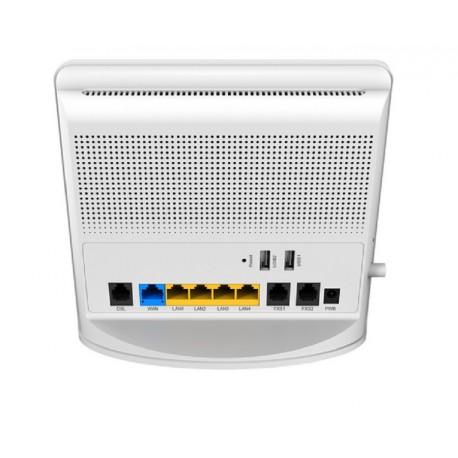 NETIS DL4480V Router con modem Gigabit WiFi 4T4R VoIP PSTN