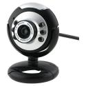 Webcam câmara Web USB de Videoconferência com microfone