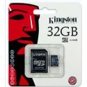 Scheda di memoria micro SD da 32 GB Kingston SDC4/32GB classe 4