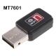 Adaptador WIFI USB MT7601 chip mediatek mini antena portatil