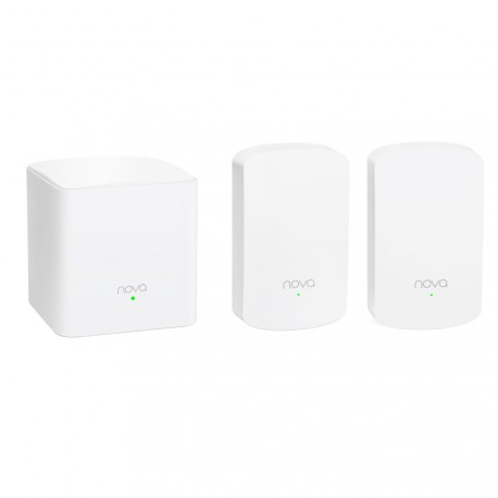 Tenda nova MW5 pack 3 piezas WiFi Mesh AC1200 para casa grande