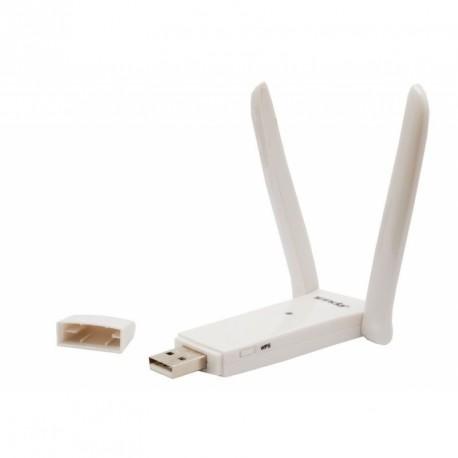USB adaptador WIFI ISB con 2 Antenas botón WPS Tenda W322UA