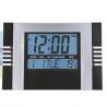 Digital-Uhr-Heim-Küche-Wand-Kalender Schwarz