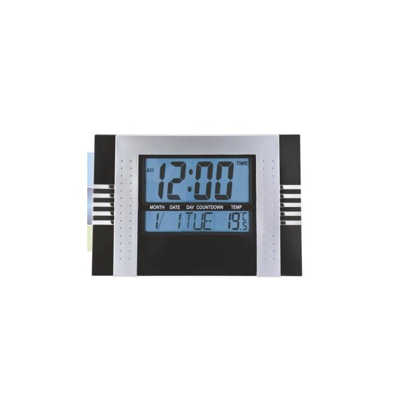 c1a874325a20 Reloj digital de pared cocina y oficina numeros grandes Negro