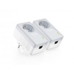 TL-PA4010P KIT plc tp link Powerline AV500 con enchufe incorporado