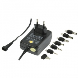 Power Supply Switch Adaptor 1500mA 1A 3v 4.5v 5v 6v 7.5v 9v 12v