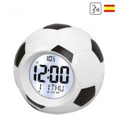 Relógio que diz horas português digital relógio bola futebol voz