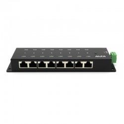 Inyector PoE Gigabit 8 puertos Pasivo Alfa APOE08G