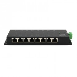 PoE-injektor Gigabit 8-port Passive Alpha APOE08G