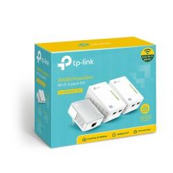 TL-WPA4220KIT PLC WiFi Extender Kit Powerline AV500 fino a 500mbps