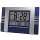 Digital-Uhr-Heim-Küche-Wand-Wecker-Kalender-Blau