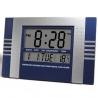Reloj digital de pared cocina y oficina numeros grandes Azul