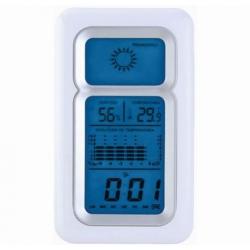 Weather forecast station LED clock sound control Pritech CC-826