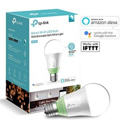 TP-LINK LB110 la Bombilla LED WiFi Inteligente con Luz Regulable