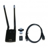 Alfa AWUS036ACH WIFI USB 3.0 dual band with anti interference
