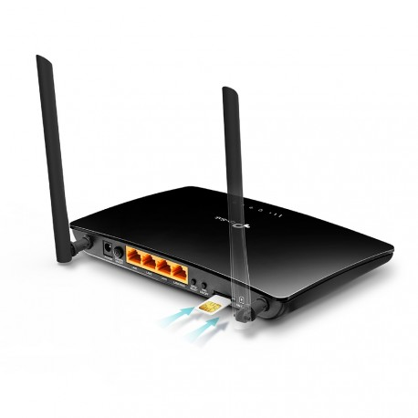 Router 4G LTE with SIM slot N WiFi TP-Link TL-MR6400